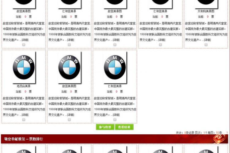 【asp源码】智睿多选品牌评选系统 v9.8.0