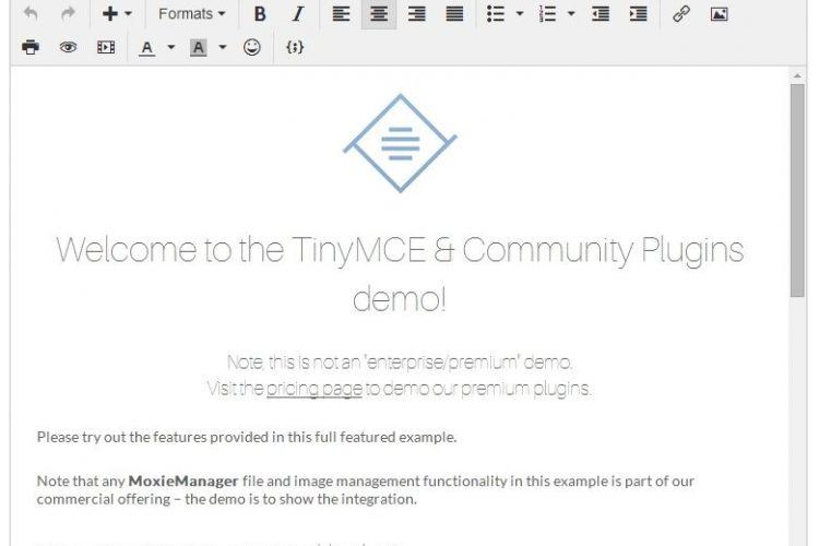 【asp源码】TinyMCE(可视化HTML编辑器) v5 RC2