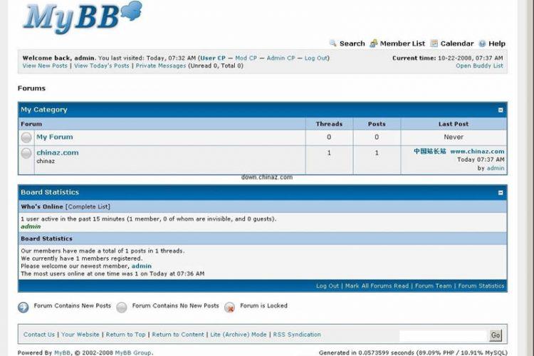 MyBB免费论坛 v1.8.20_php源码