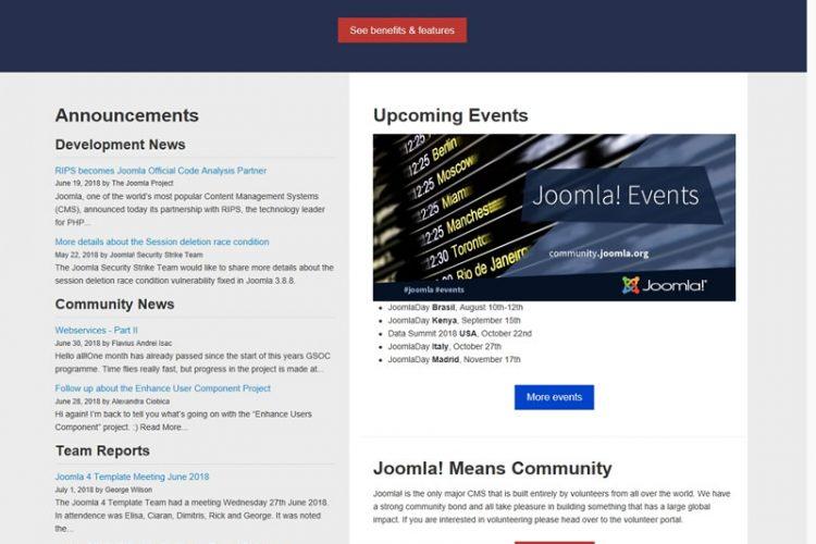 Joomla(囧啦)英文版 v3.9.6_php源码