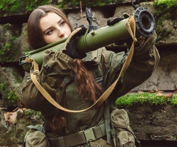 Elena Deligioz俄罗斯军装COSPLAY美图汇总