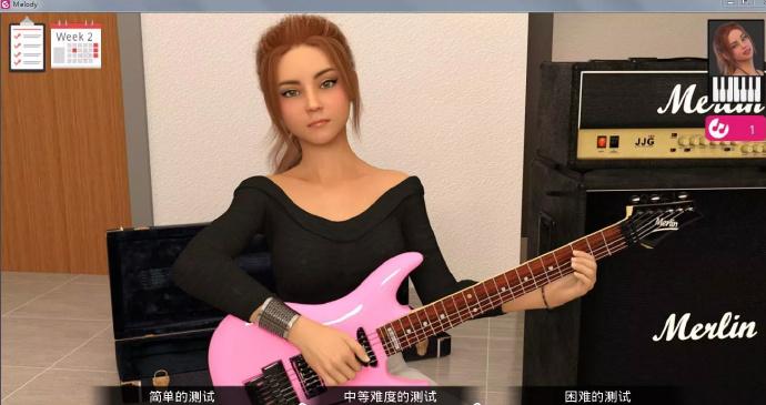 动人的旋律-Melody Ver1.3.0 免费汉化版【11月更新+pc+安卓】[欧美AVG]